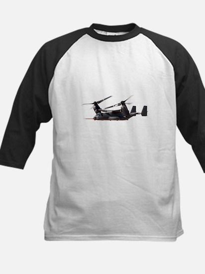 V-22 Osprey Aircraft Kids Baseball Jersey
