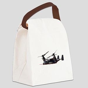 V-22 Osprey Aircraft Canvas Lunch Bag