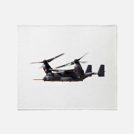 V-22 Osprey Aircraft Throw Blanket