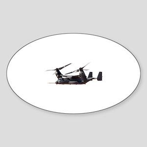 V-22 Osprey Aircraft Sticker (Oval)