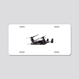V-22 Osprey Aircraft Aluminum License Plate