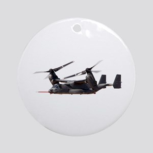V-22 Osprey Aircraft Ornament (Round)