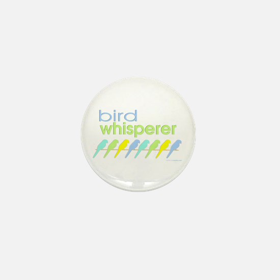 bird whisperer Mini Button