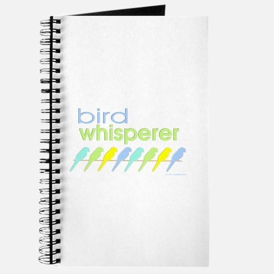 bird whisperer Journal