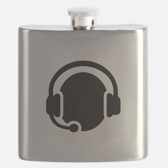 Headset call center Flask