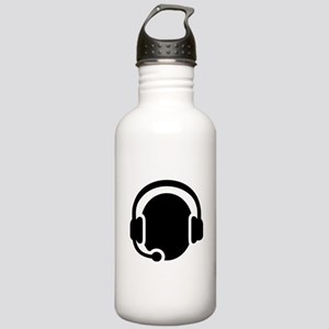Headset call center Stainless Water Bottle 1.0L