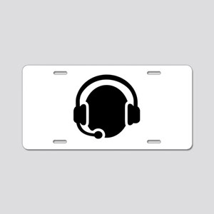 Headset call center Aluminum License Plate