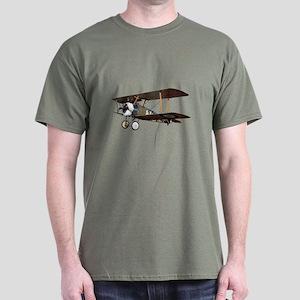 Camel Biplane Fighter Dark T-Shirt
