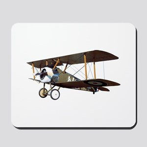 Camel Biplane Fighter Mousepad
