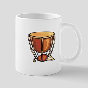 tympani drum percussion design Mugs