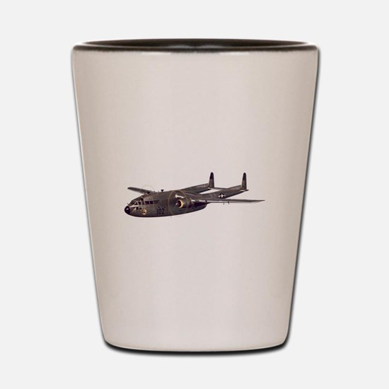 C-119 Flying Boxcar Shot Glass