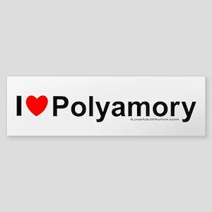 Polyamory Sticker (Bumper)
