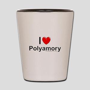 Polyamory Shot Glass