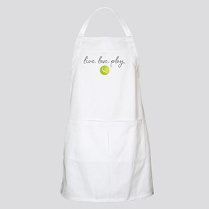 Live Love Play Tennis Light Apron