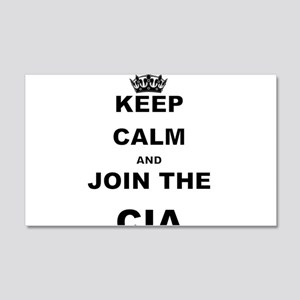 KEEP CALM AND JOIN THE CIA Wall Decal