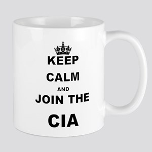 KEEP CALM AND JOIN THE CIA Mugs