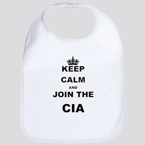 KEEP CALM AND JOIN THE CIA Bib