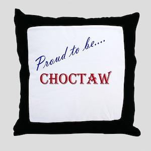Choctaw Throw Pillow