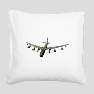 B-52 Stratofortress Bomber Square Canvas Pillow