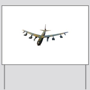 B-52 Stratofortress Bomber Yard Sign