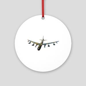 B-52 Stratofortress Bomber Ornament (Round)