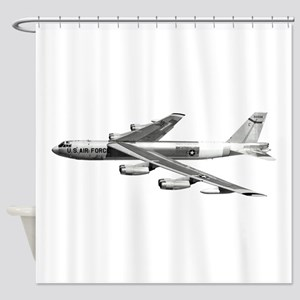 B-52 Stratofortress Bomber Shower Curtain