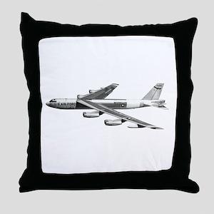 B-52 Stratofortress Bomber Throw Pillow