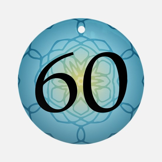 60th Birthday Party For Her Ornament (Round)