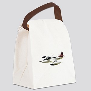A-37 Dragonfly Aircraft Canvas Lunch Bag