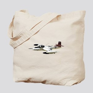 A-37 Dragonfly Aircraft Tote Bag