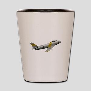 F-86 Sabre Shot Glass