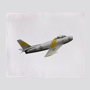 F-86 Sabre Throw Blanket