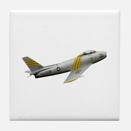 F-86 Sabre Tile Coaster