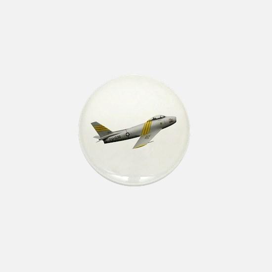 F-86 Sabre Mini Button
