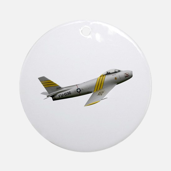 F-86 Sabre Ornament (Round)