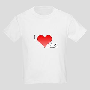 I Love dB Kids T-Shirt