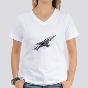 Harrier II Jump Jet Women's V-Neck T-Shirt