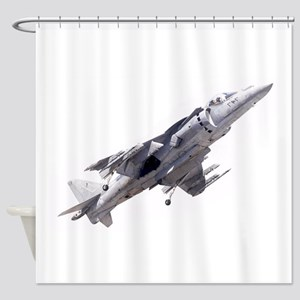 Harrier II Jump Jet Shower Curtain