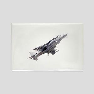 Harrier II Jump Jet Rectangle Magnet