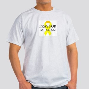 Pray for Meagan Ash Grey T-Shirt