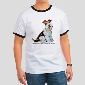 Fox Terrier Happiness Ringer T