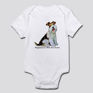 Fox Terrier Happiness Infant Bodysuit