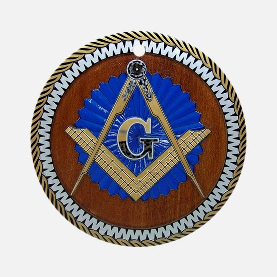 masons Round Ornament