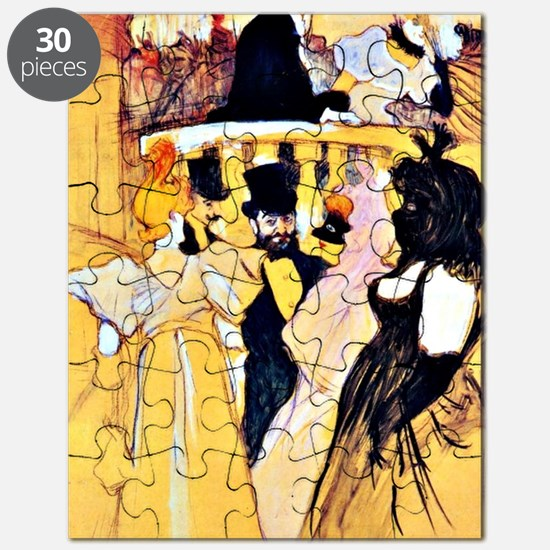 Toulouse-Lautrec: At the Opera Puzzle