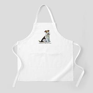 Fox Terrier Happiness BBQ Apron