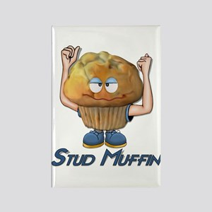 Stud Muffin Rectangle Magnet (10 pack)
