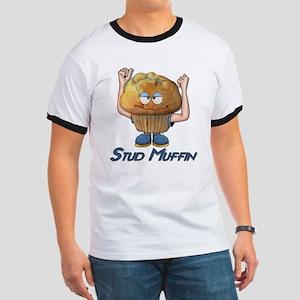 Stud Muffin Ringer T