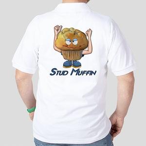 Stud Muffin Golf Shirt