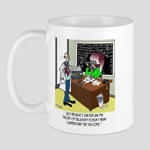 Theory of Relativity & The Tax Code Mug