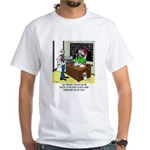 Theory of Relativity & The Tax Code White T-Shirt
